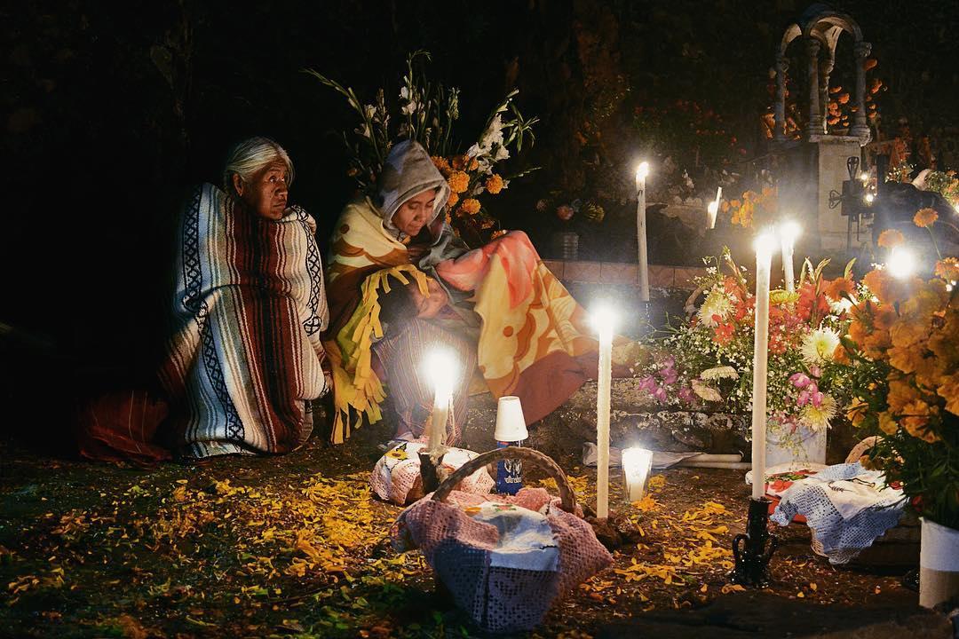 Día de muertos en Pátzcuaro, Michoacán - Fotografía por @freddy_rb10