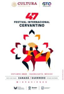Cartel oficial del Festival Internacional Cervantino 2019