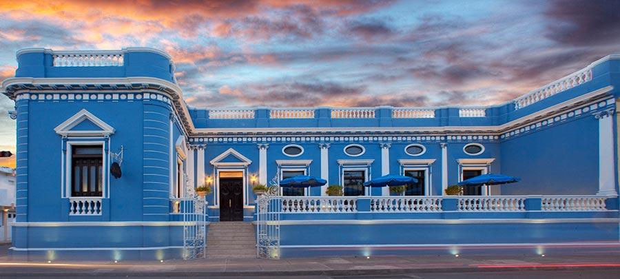 Hoteles en Yucatán - Hotel Casa Azul