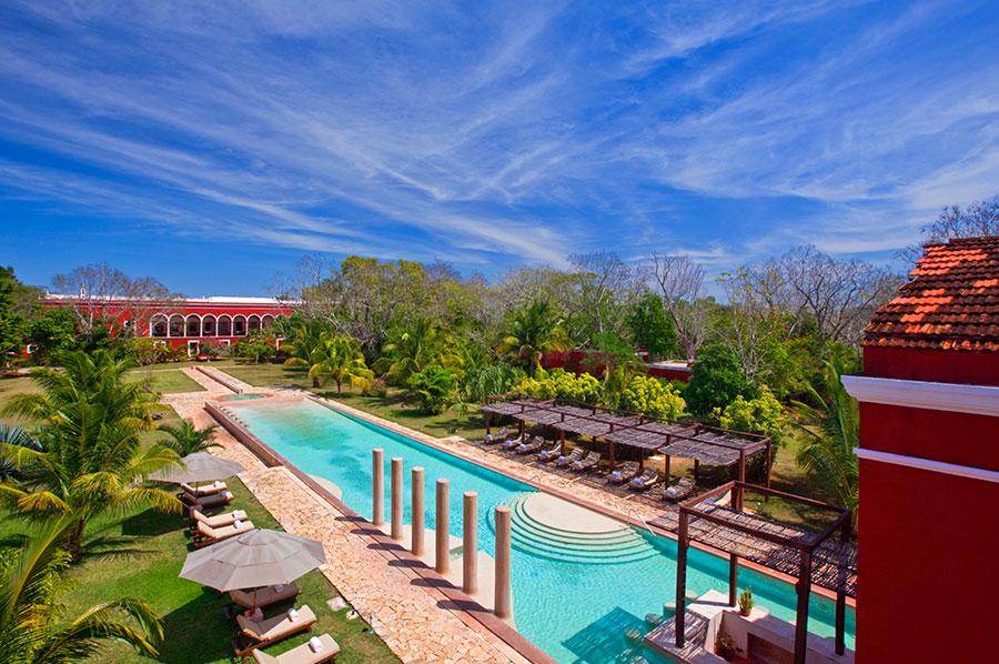 Hoteles en Yucatán - Hacienda Temozón