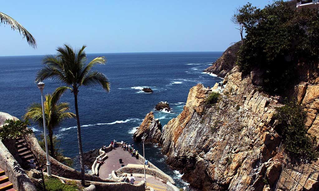 Acapulco para viajes en Navidad.