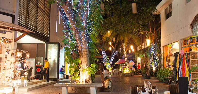Playa del Carmen para viajes en Navidad.