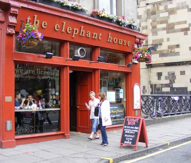 The Elephant House. Foto por Richard Penn.