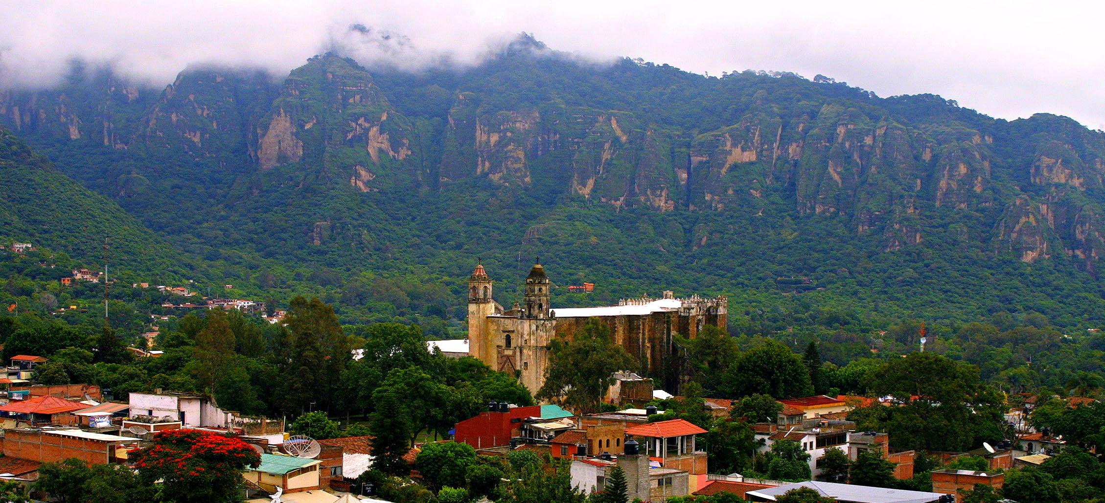 Pueblos cerca de la Ciudad de México: Tepoztlán