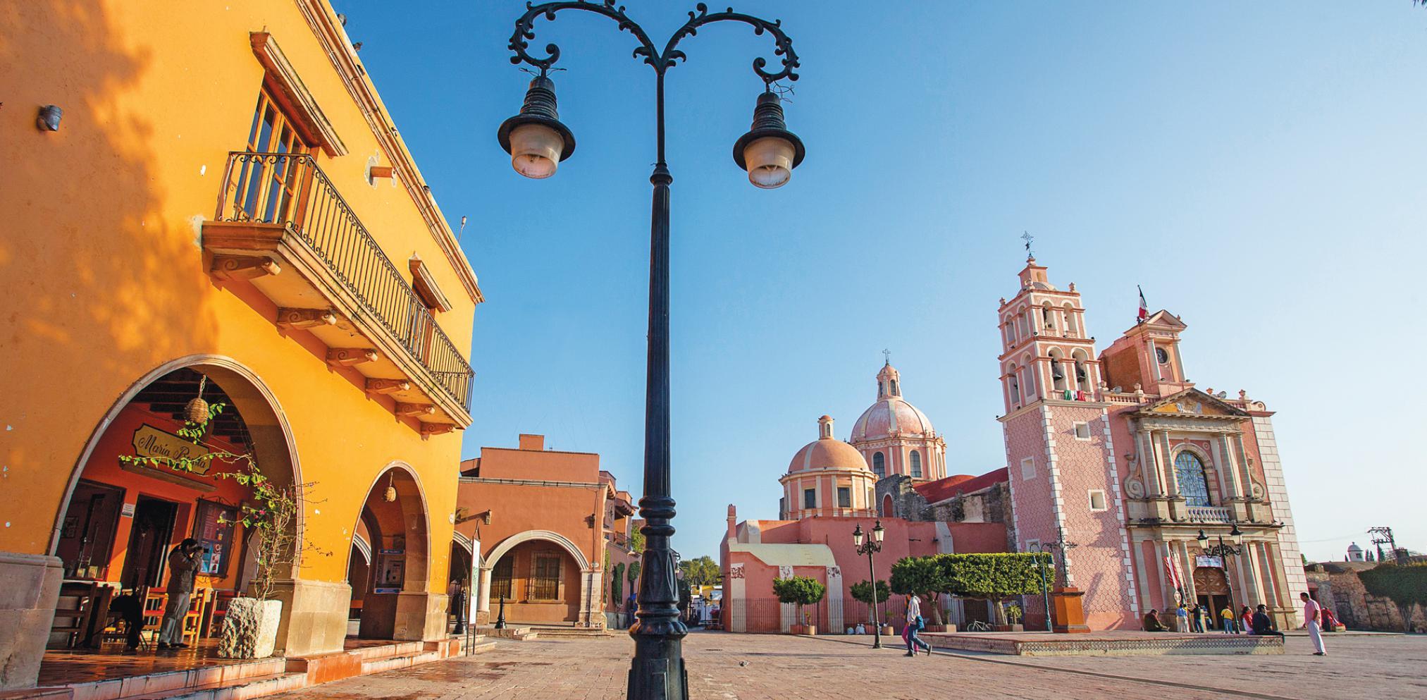 Pueblos cerca de la Ciudad de México: Tequisquiapan, Querétaro