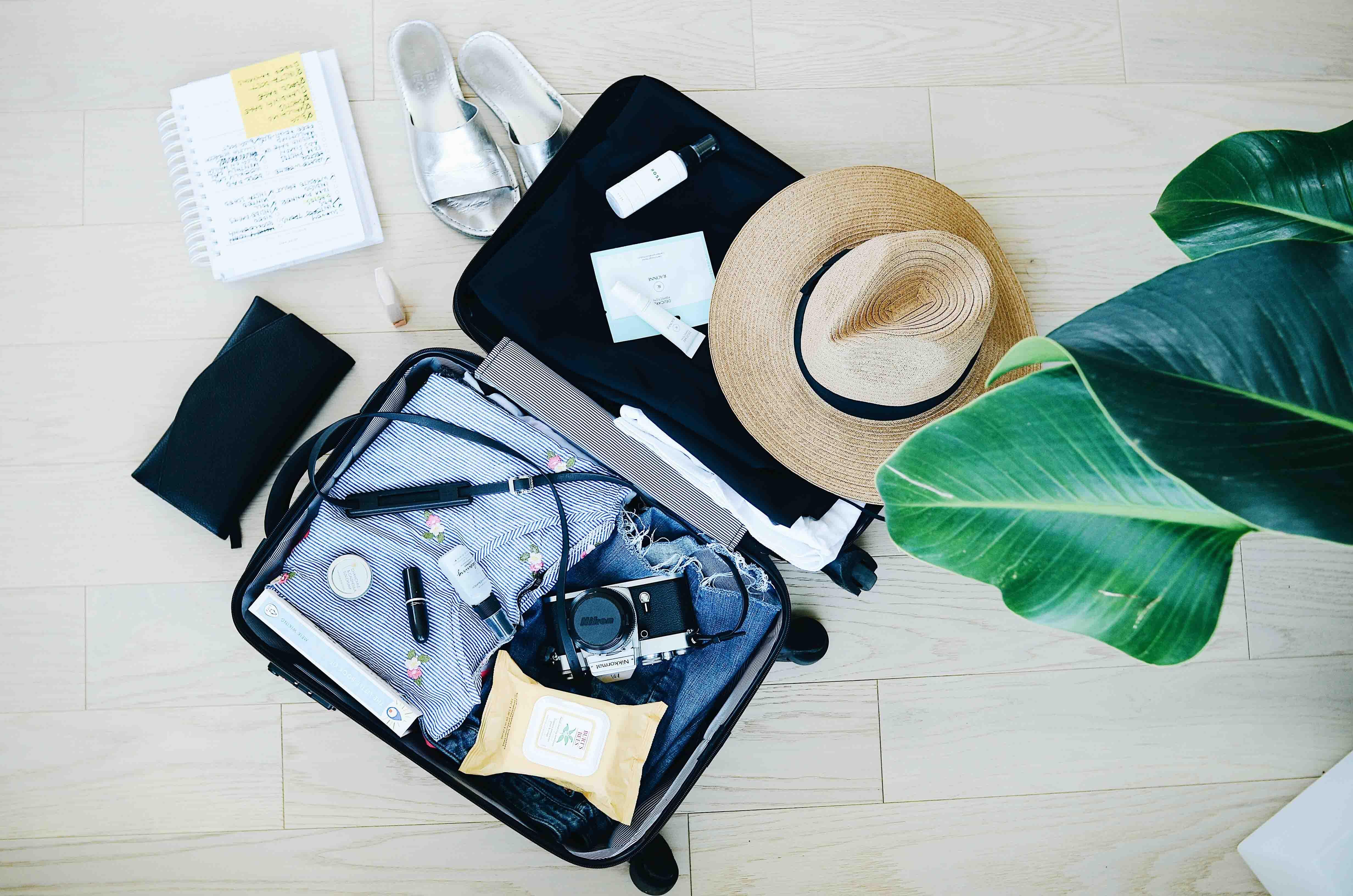 Cómo hacer tu maleta de viaje: organiza y ahorra espacio