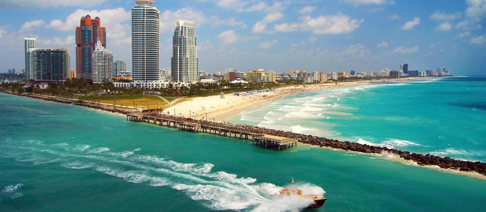 Miami Beach es uno de los lugares turísticos de Florida