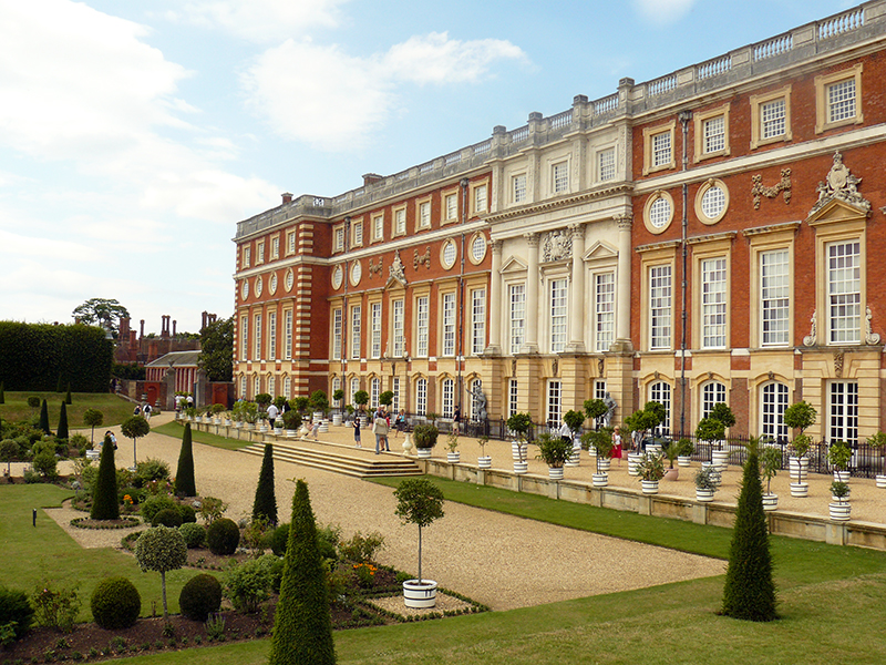 Hampton Court Palace, sede principal de la película The Favourite