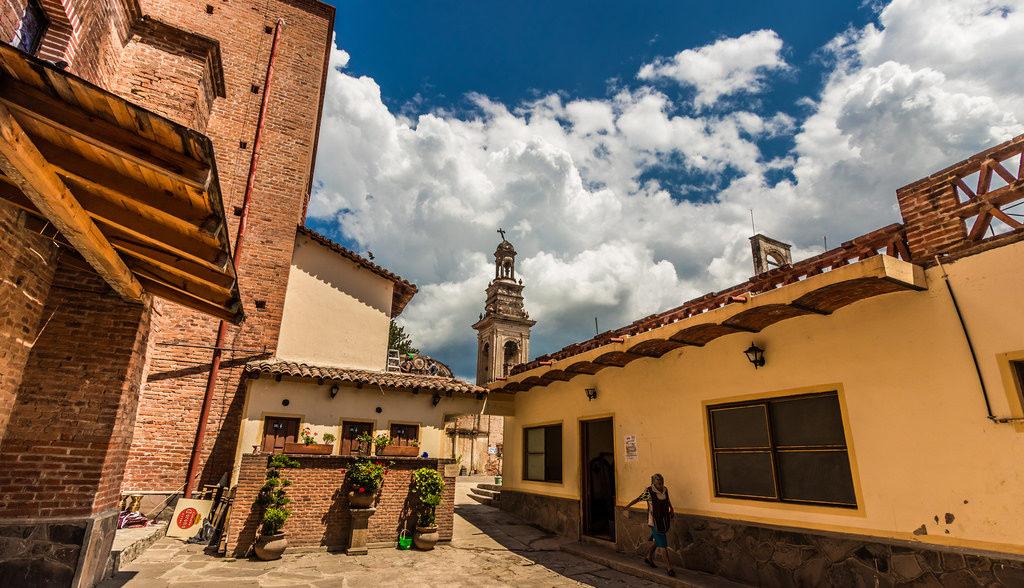 Casas de ladrillo en Tapalpa Pueblo Mágico