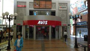 Sucursal Avis dentro de Kidzania Cuicuilco.