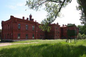 Prisión Karosta en Liepaja, Letonia.