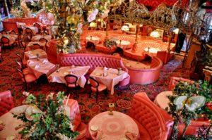 Comedor del hotel Madonna Inn.