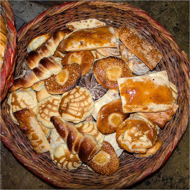 Pan de la panadería el Resobado