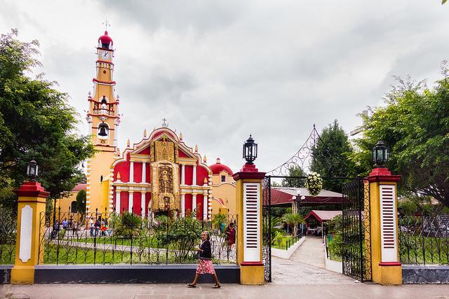 Parroquia de San Jerónimo en Coatepec, Veracruz.