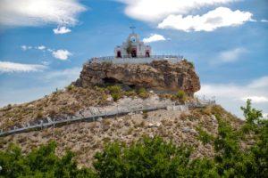 Capilla del Santo Madero en Parras de la Fuente, Pueblo Mágico de Coahuila.