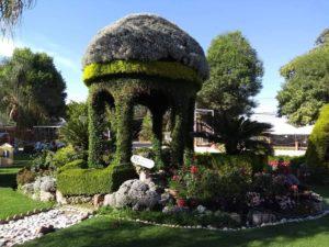 Jardines en Atlixco Puebla