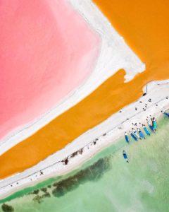 Las coloradas, Yucatán.