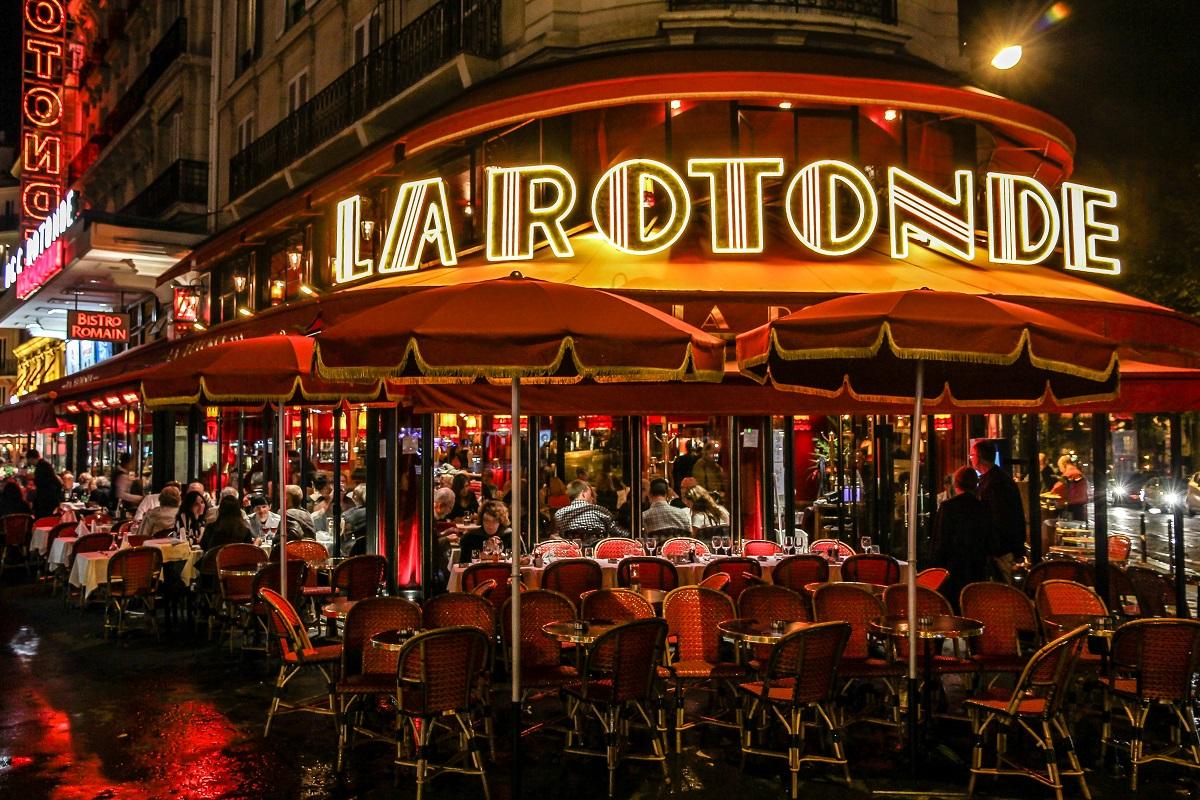 Café La Rotonde Montparnasse
