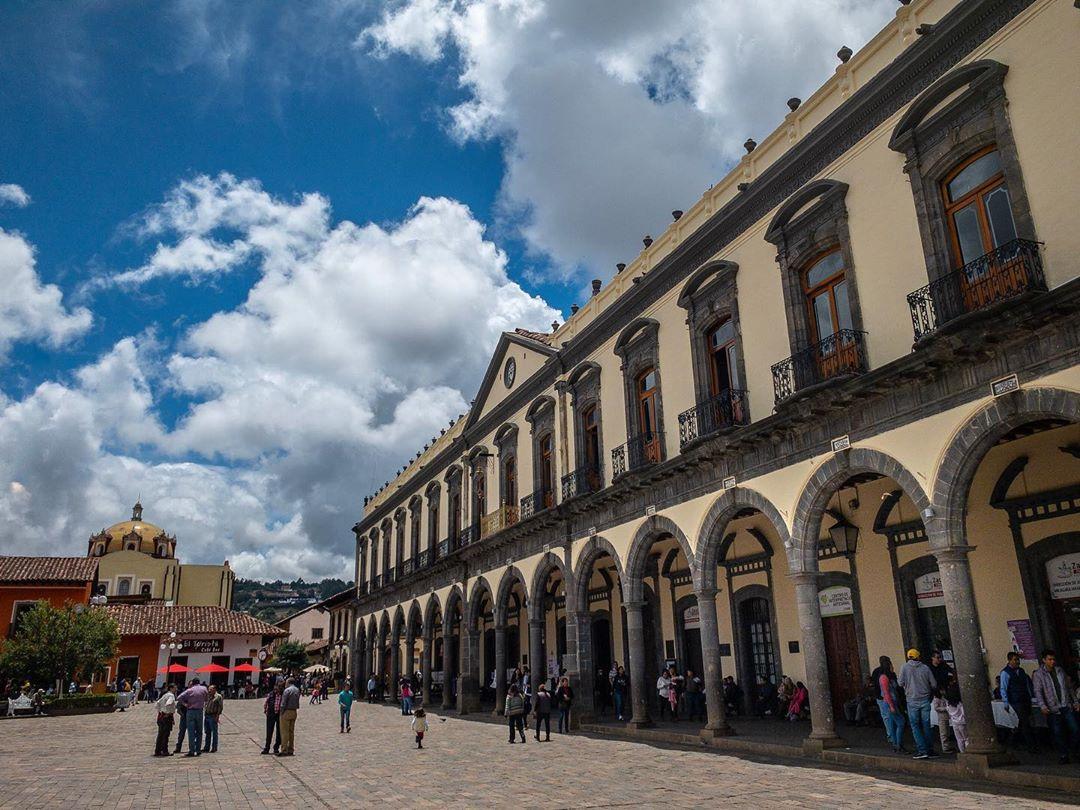 Centro histórico de Zacatlán.