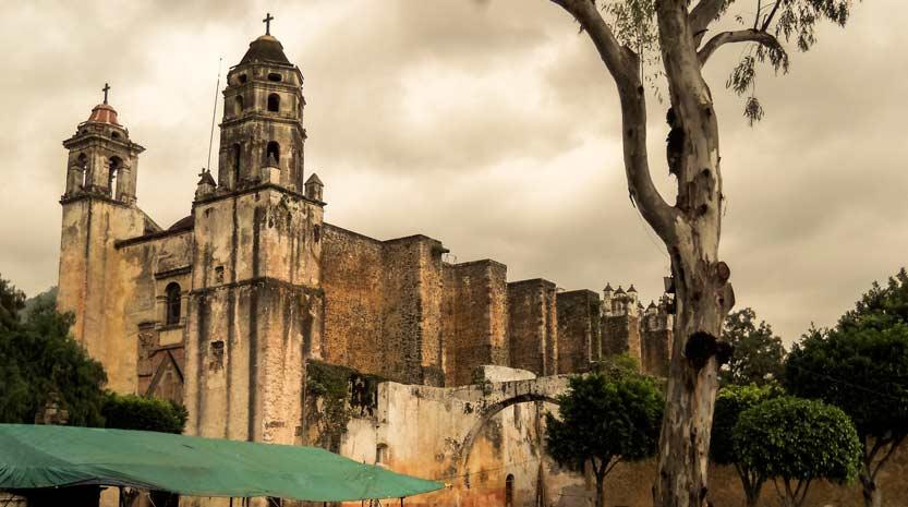 Exconvento-natividad en Tepoztlán