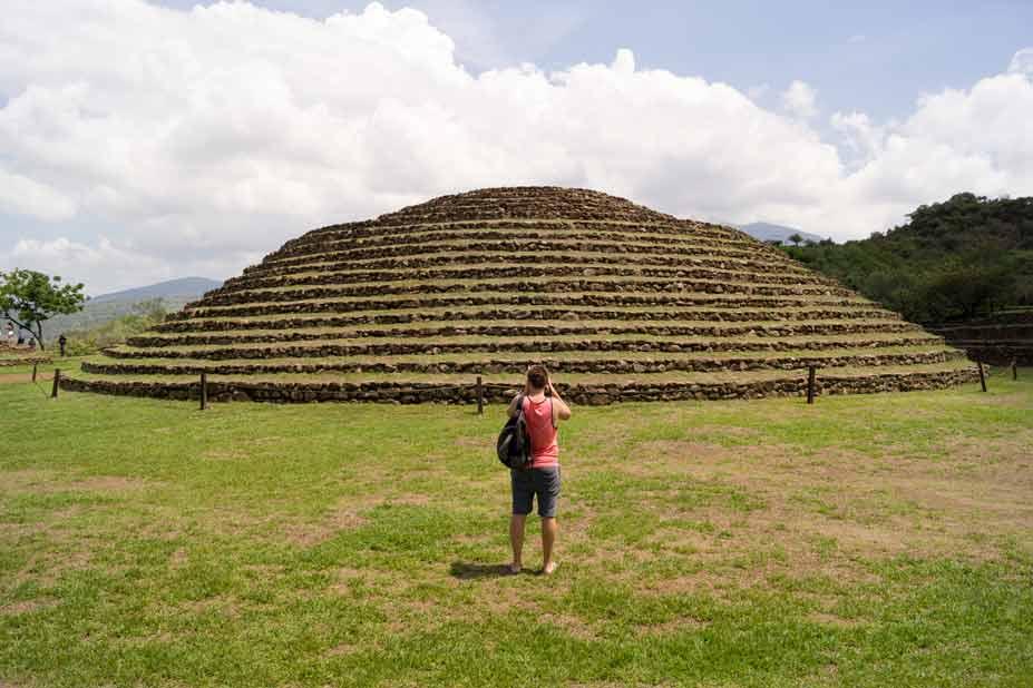 Guachimontones en Gudalajara