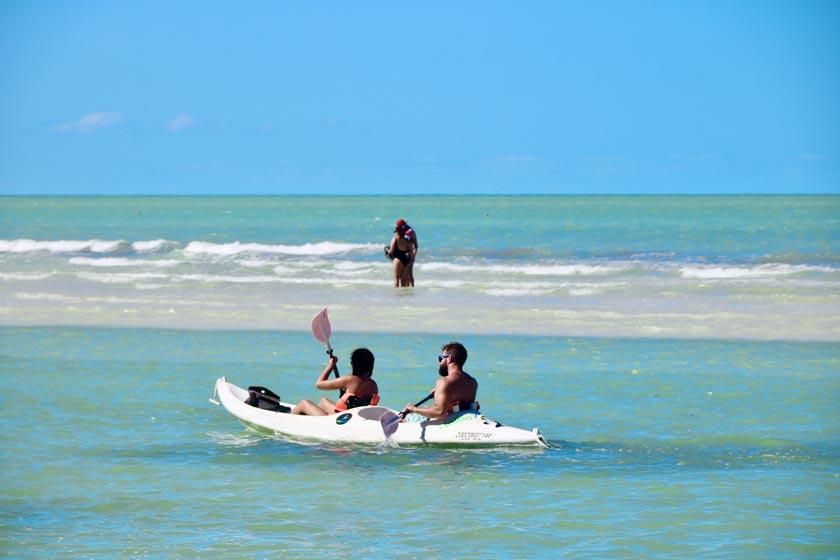 Holbox, un pedacito de cielo en el caribe mexicano. Avis renta de autos.
