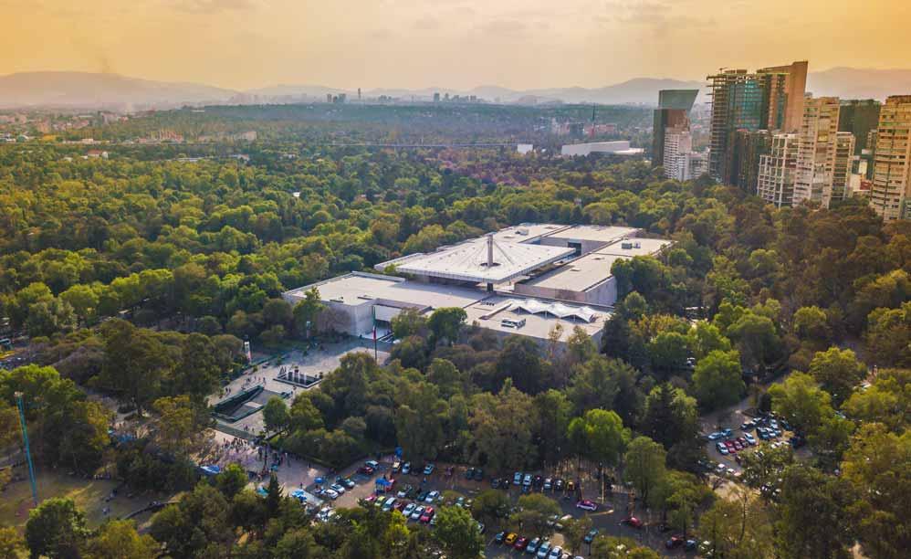 Museo Nacional de Antropología y Museo Tamayo de la ciudad de México