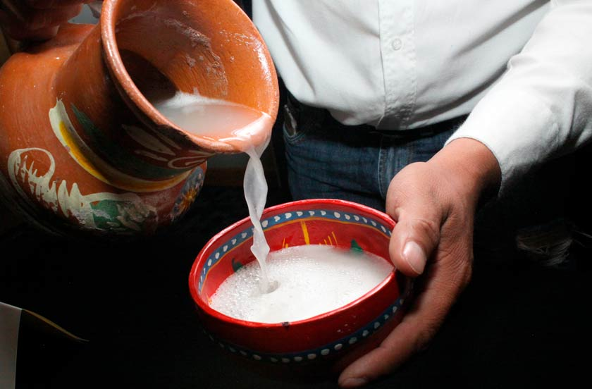 Pulque tradicional
