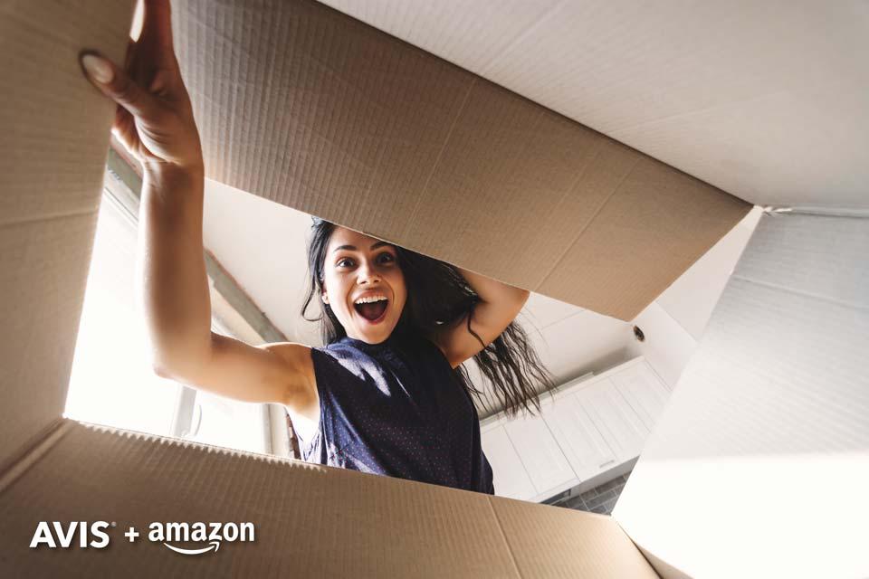 Beneficios Avis y Amazon al prepagar tu auto.
