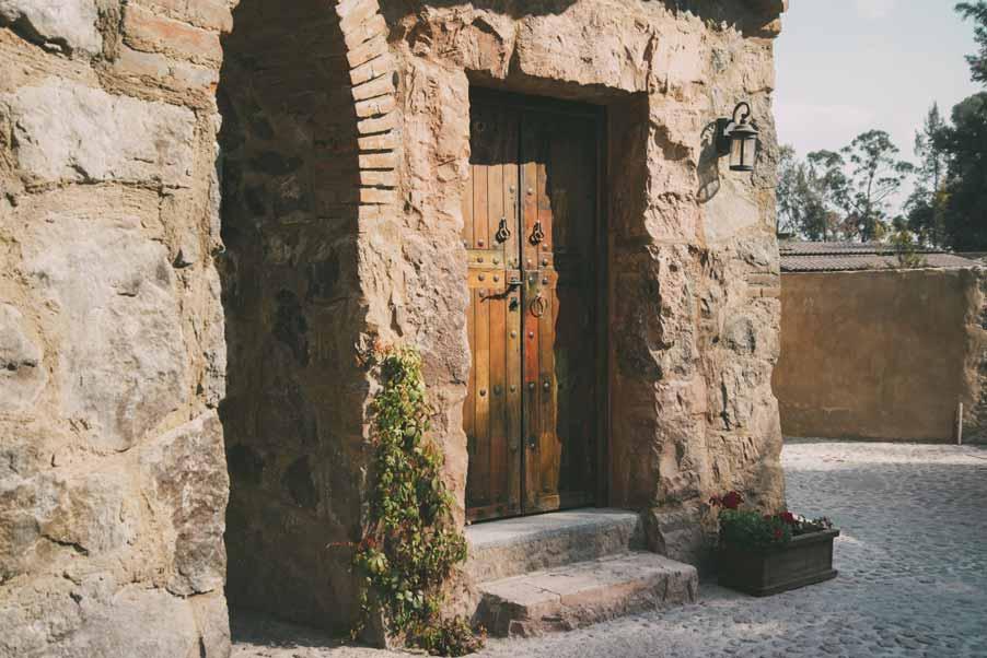 Val'Quirico, un pueblo medieval.